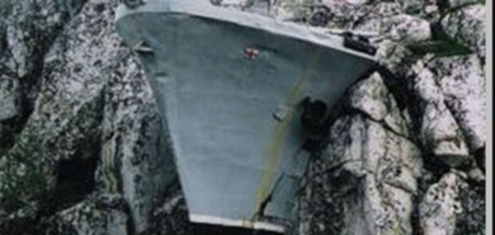 Моряки забули забрати торпеду на кордоні