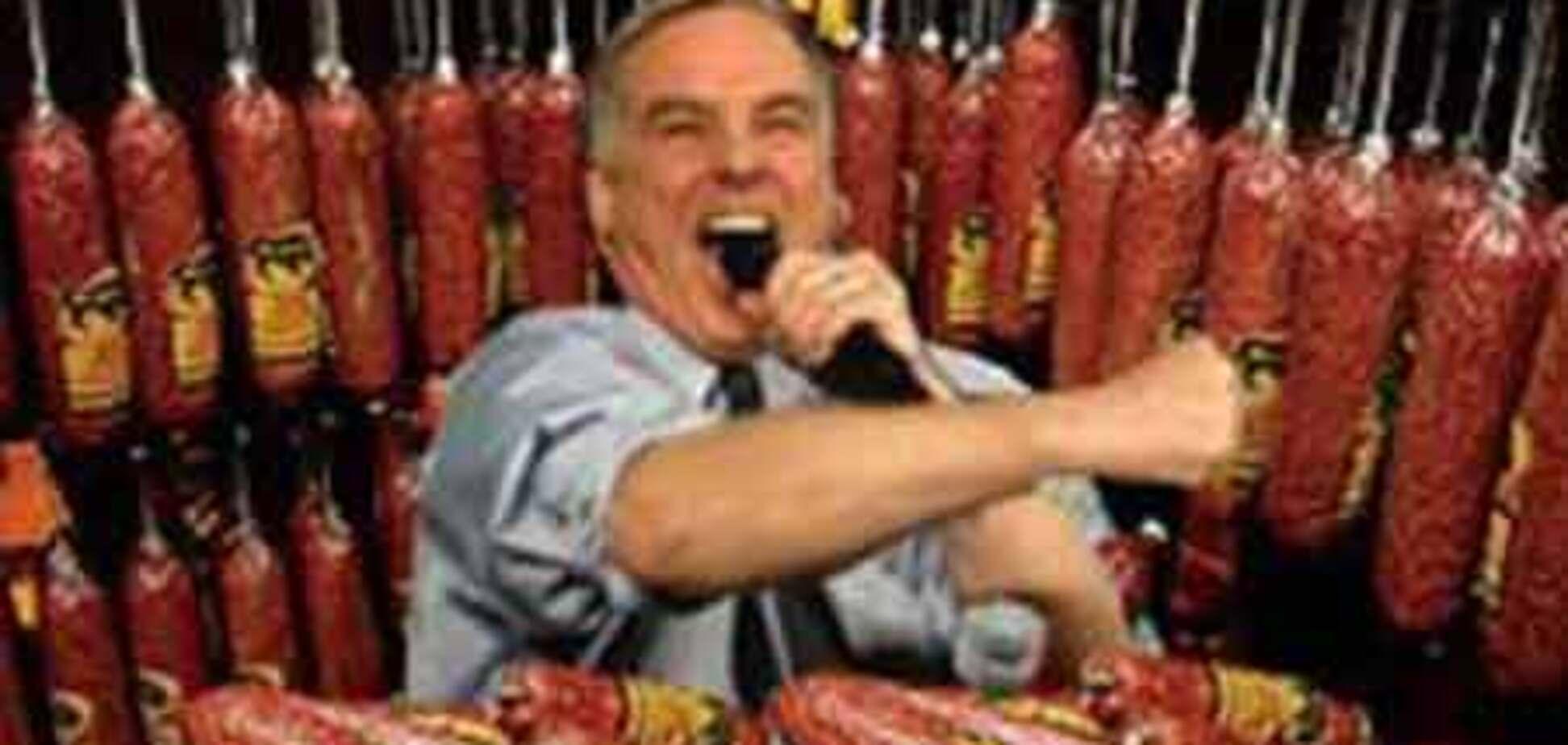 Мужчины подвергают себя риску, поедая салями