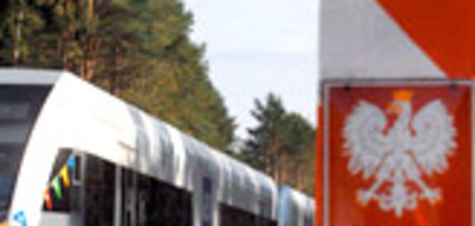 Россияне захватили польский поезд