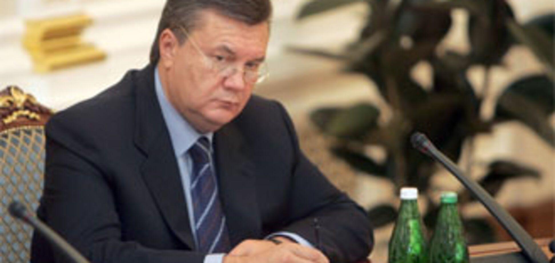 Янукович: я недоволен властью Крыма