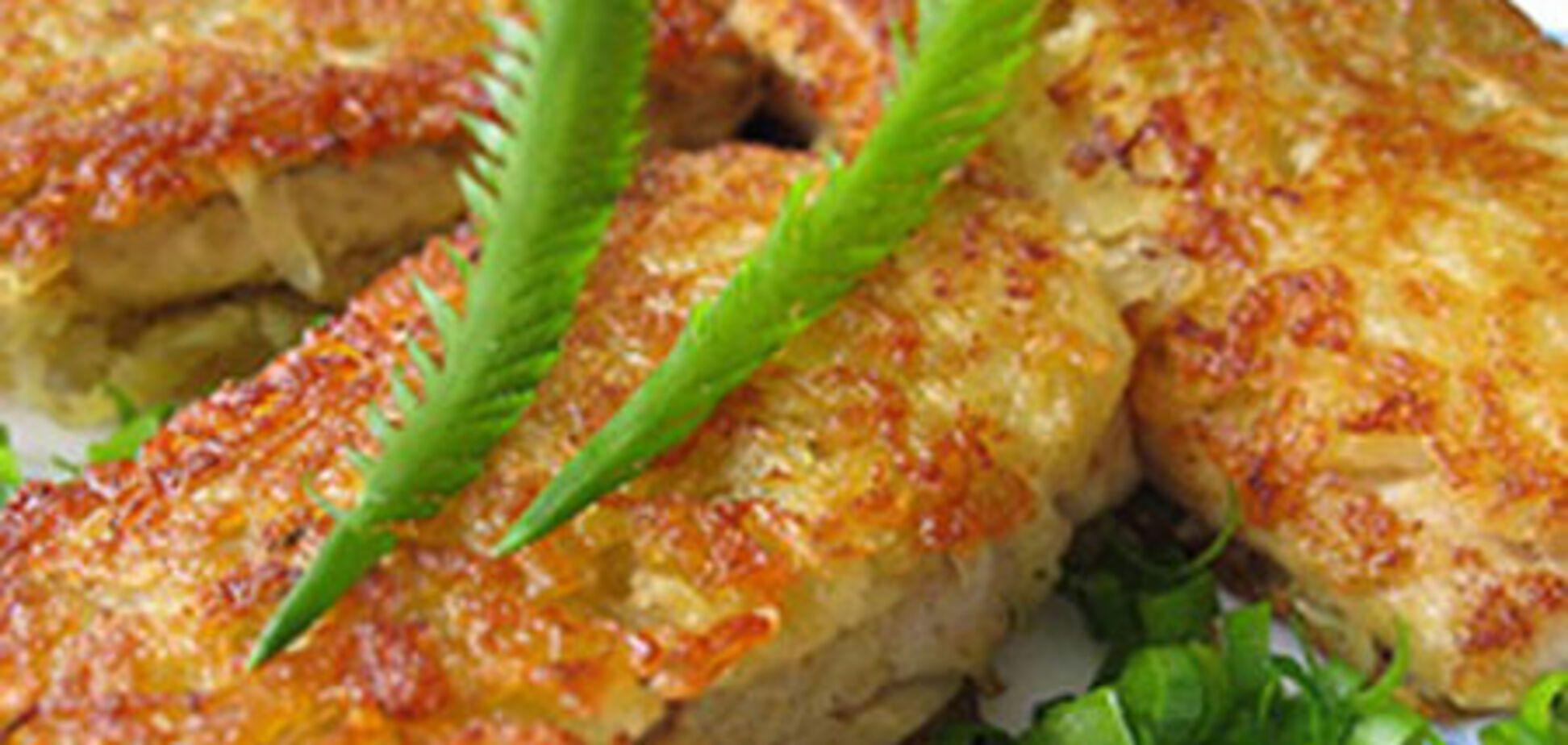 Рыбное филе в картофеле