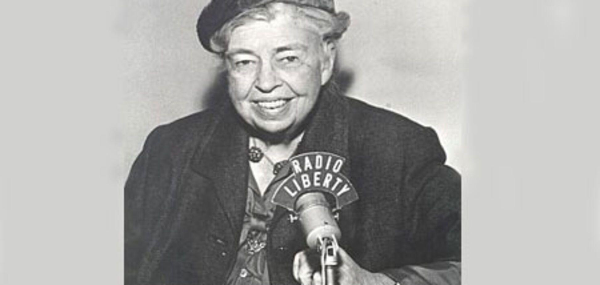 Элеанора Рузвельт и американки