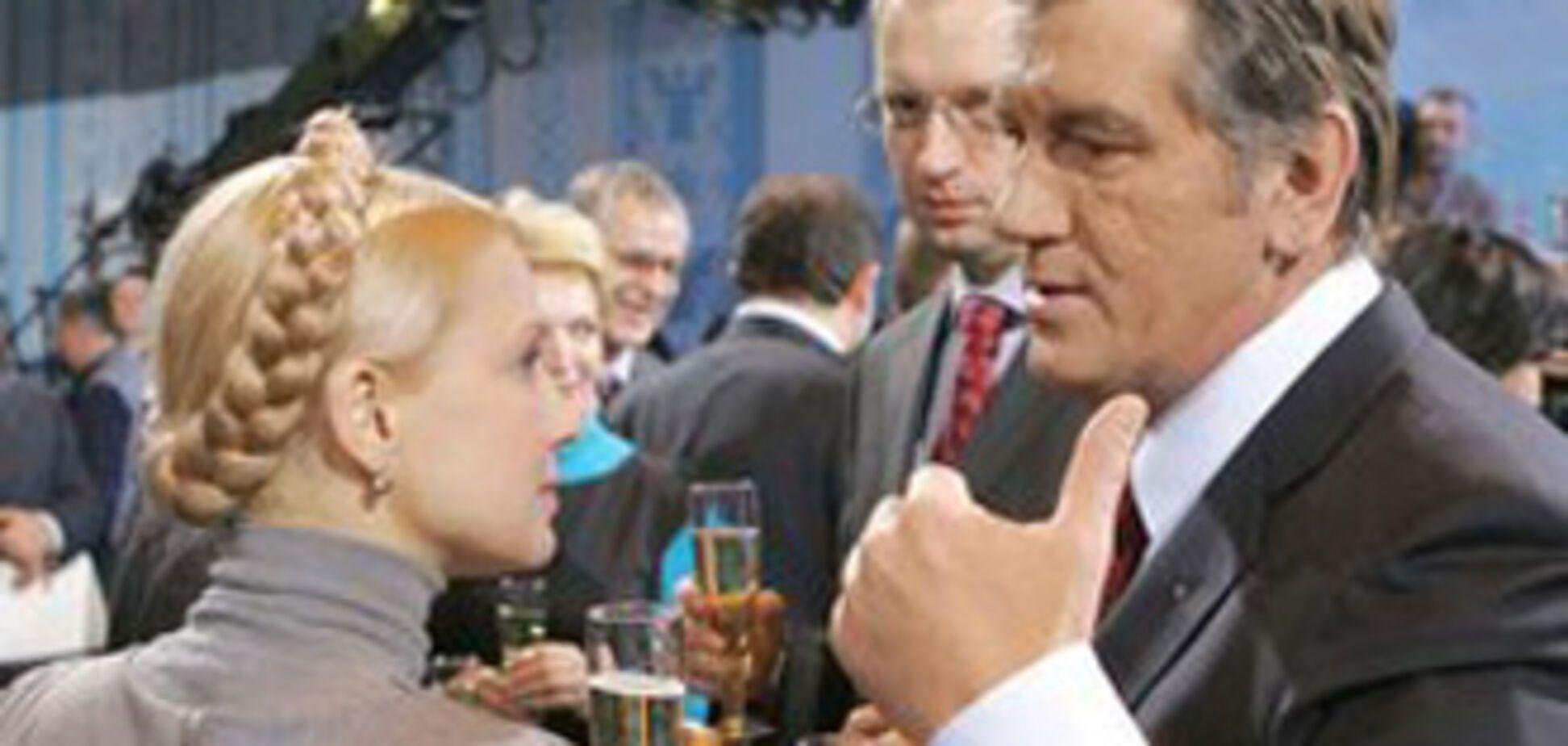 Ющенко, Тимошенко, Литвин - двоє з них повинні 'сидіти'