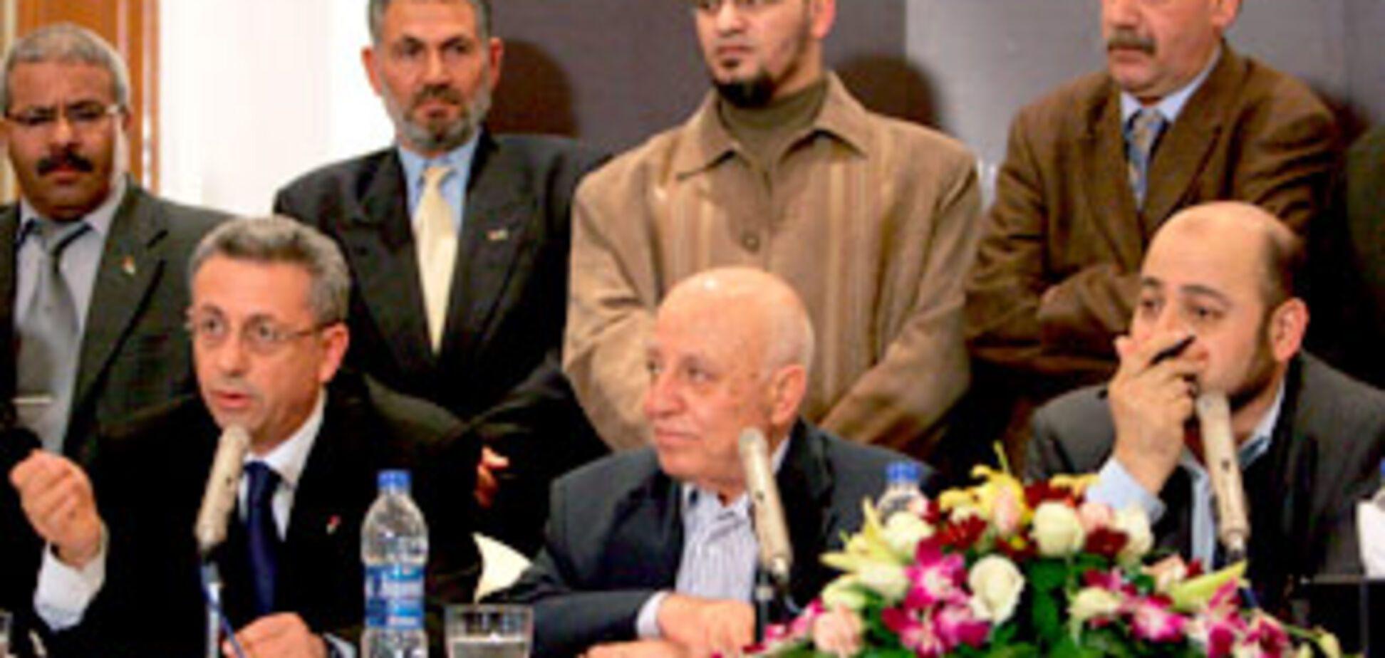 'Хамас' і 'Фатх' створюють спільний уряд