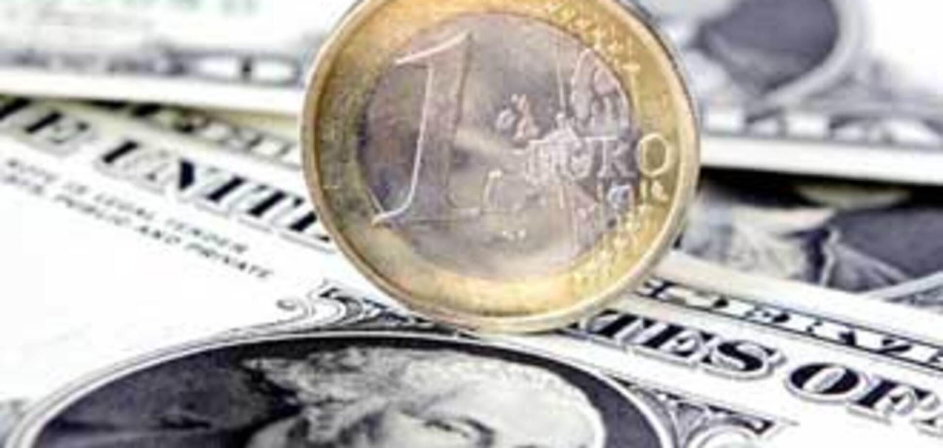 Долар на міжбанку 'поважчав' на 35 копійок