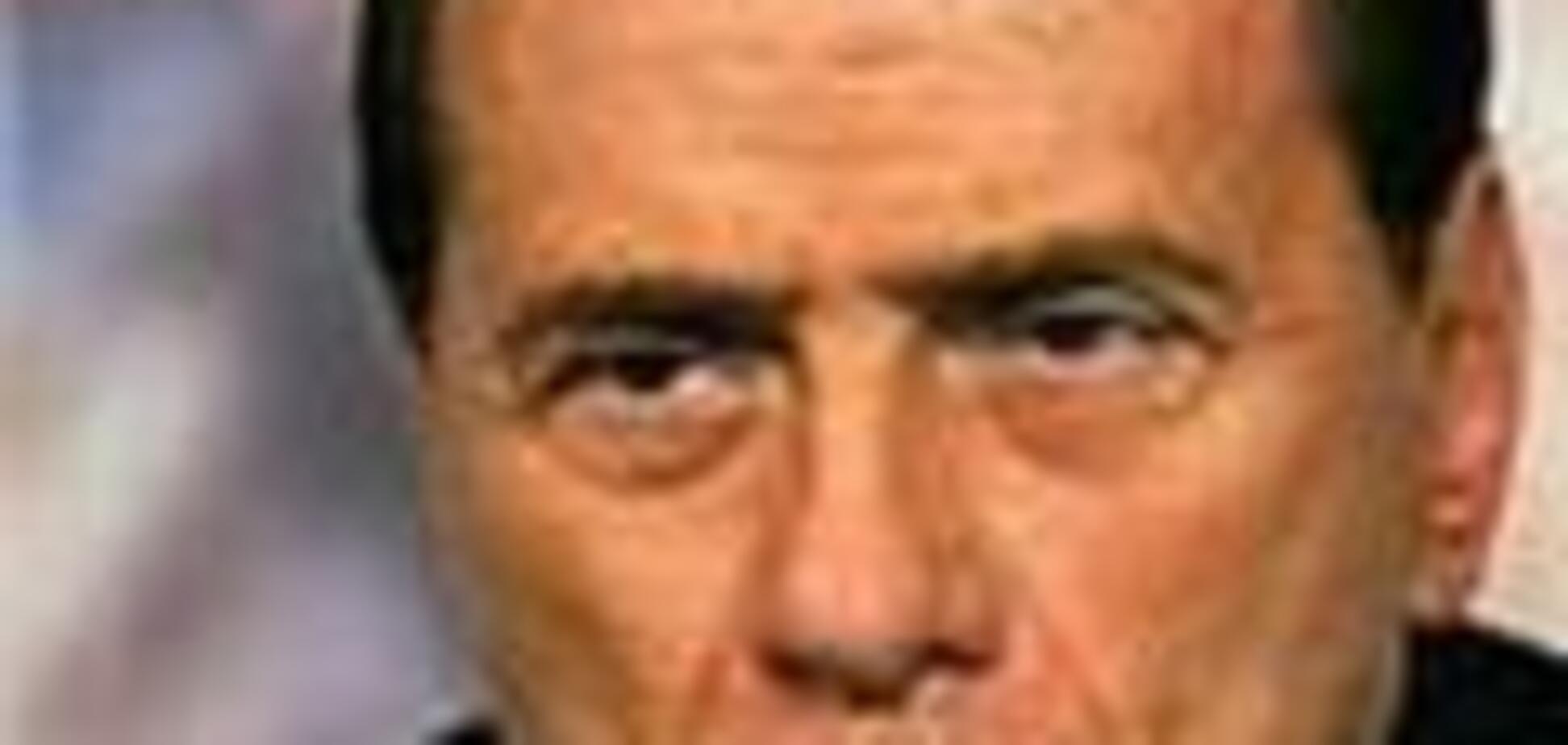 Берлусконі знову відзначився грубим гумором