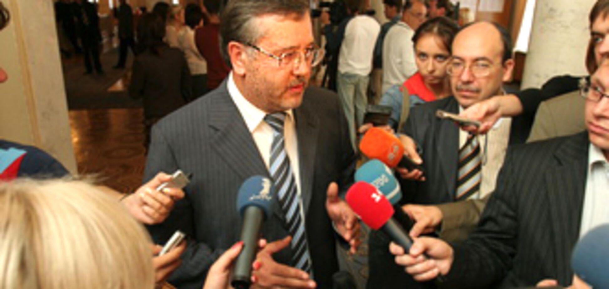Гриценко заявив про свої президентські амбіції