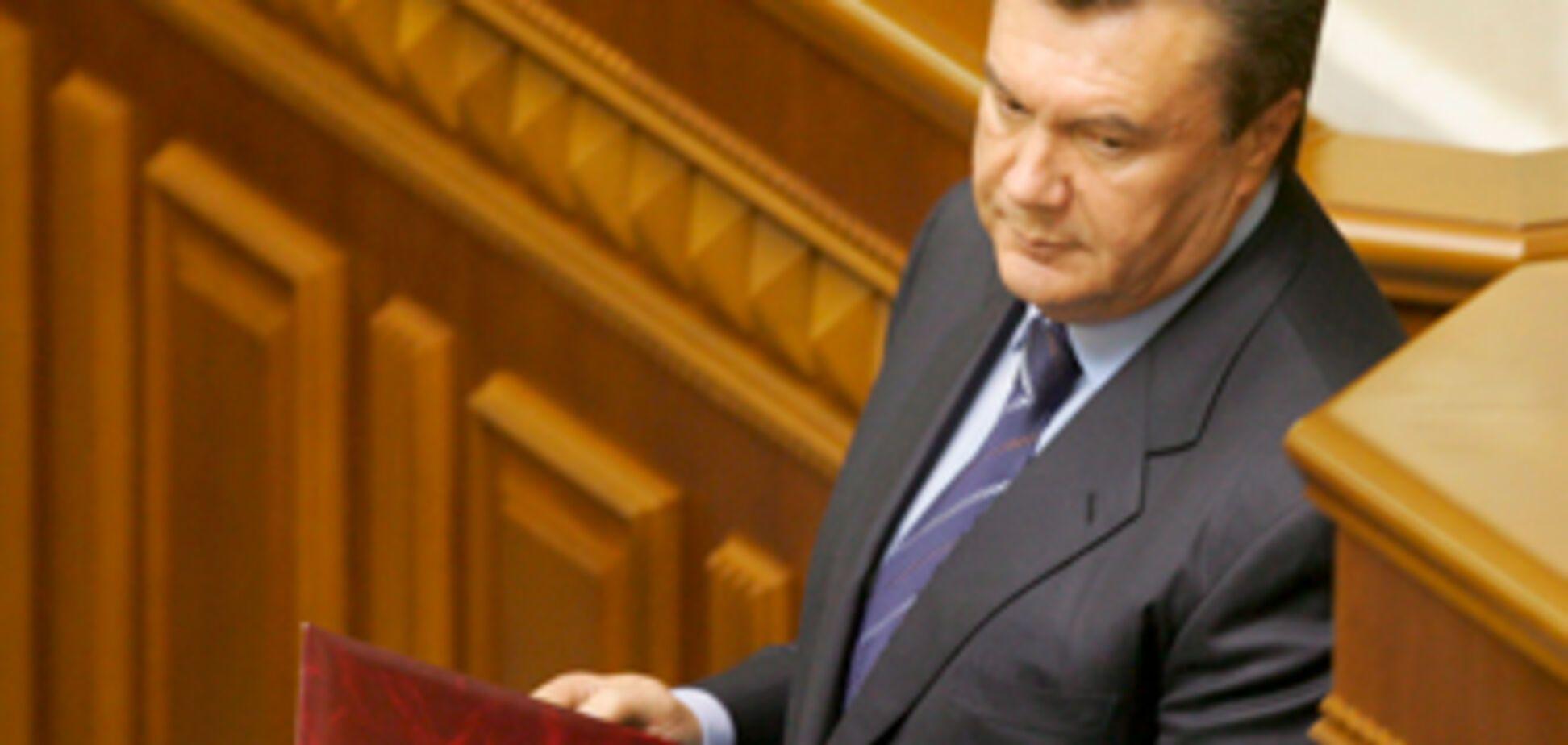 Янукович - перший в черзі на президентство
