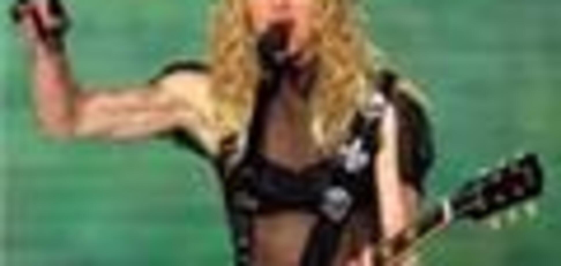 Мадонна впала з коня