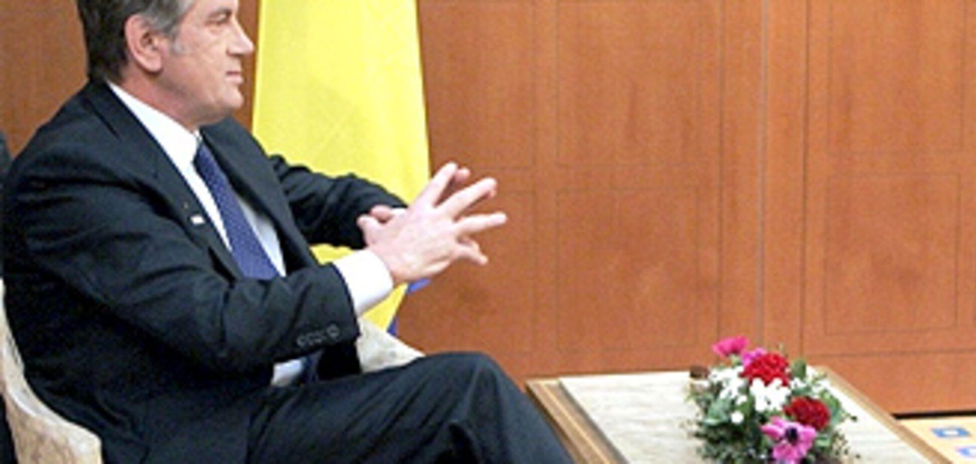 Ющенко поддержал Луценко