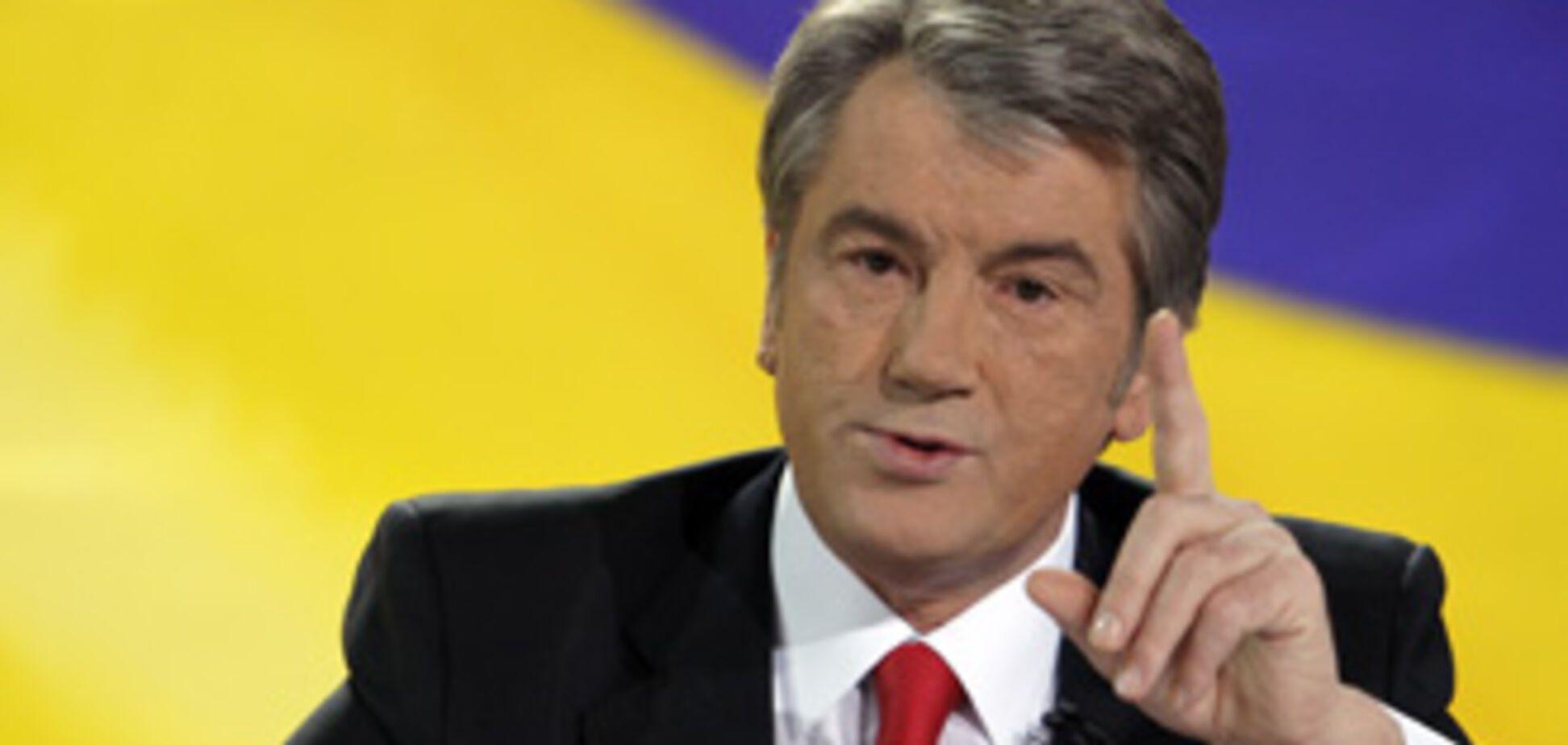 Ющенко и 'Наша Украина' засели в 'Киевпроекте'