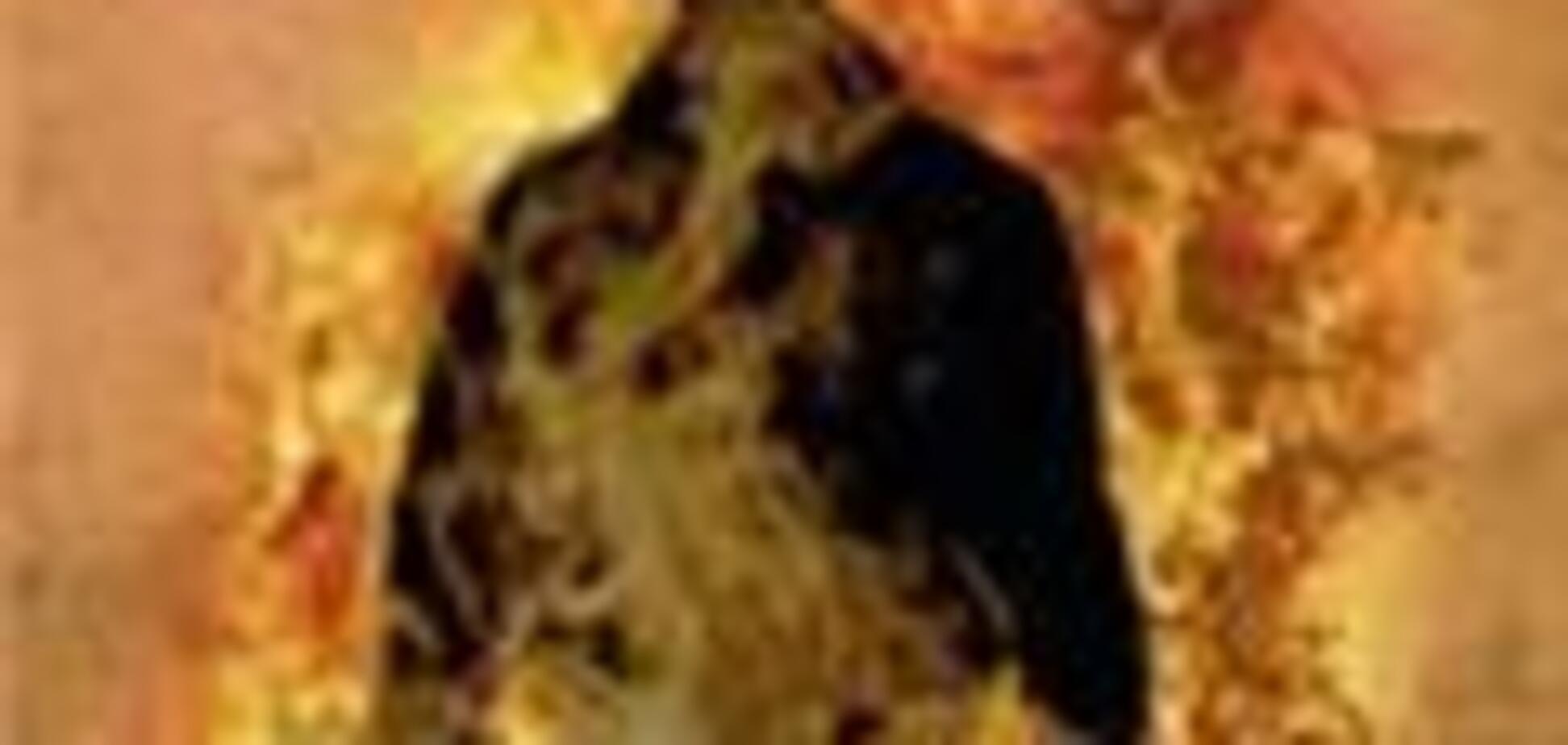 Житель Кременчуга пытался сжечь себя