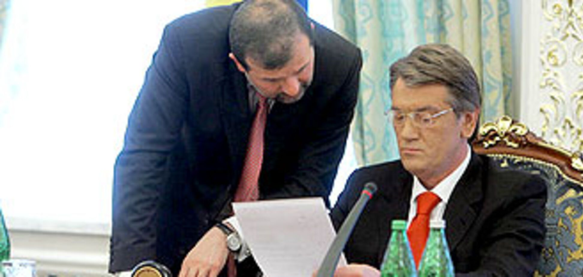 Ющенко сам хотел уволить Балогу
