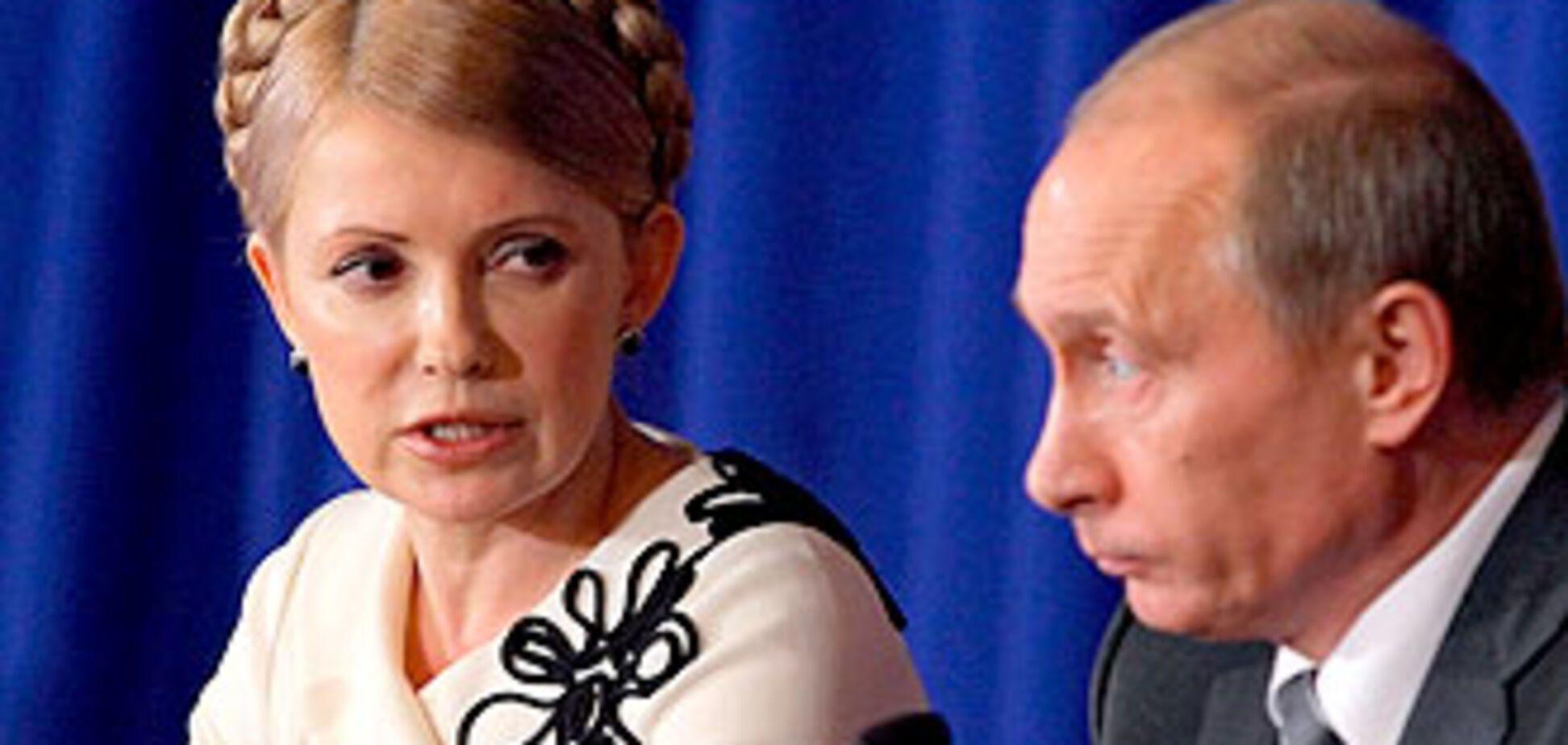 Тимошенко злітає на зустріч з Путіним