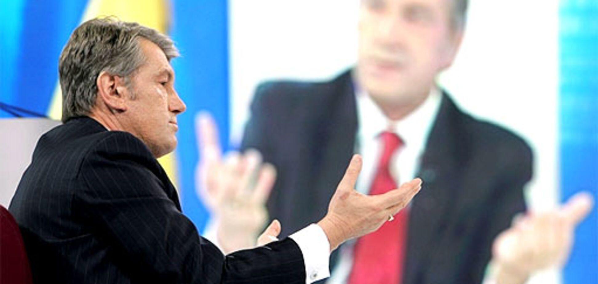 Ющенко признал зависимость от Москвы