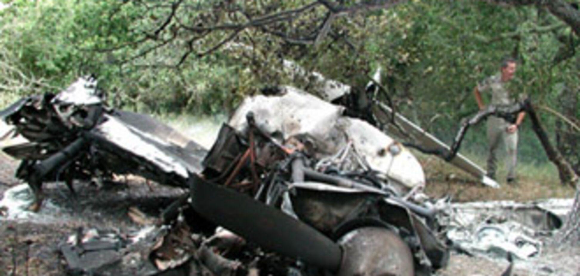 В Кировограде разбился учебный самолет