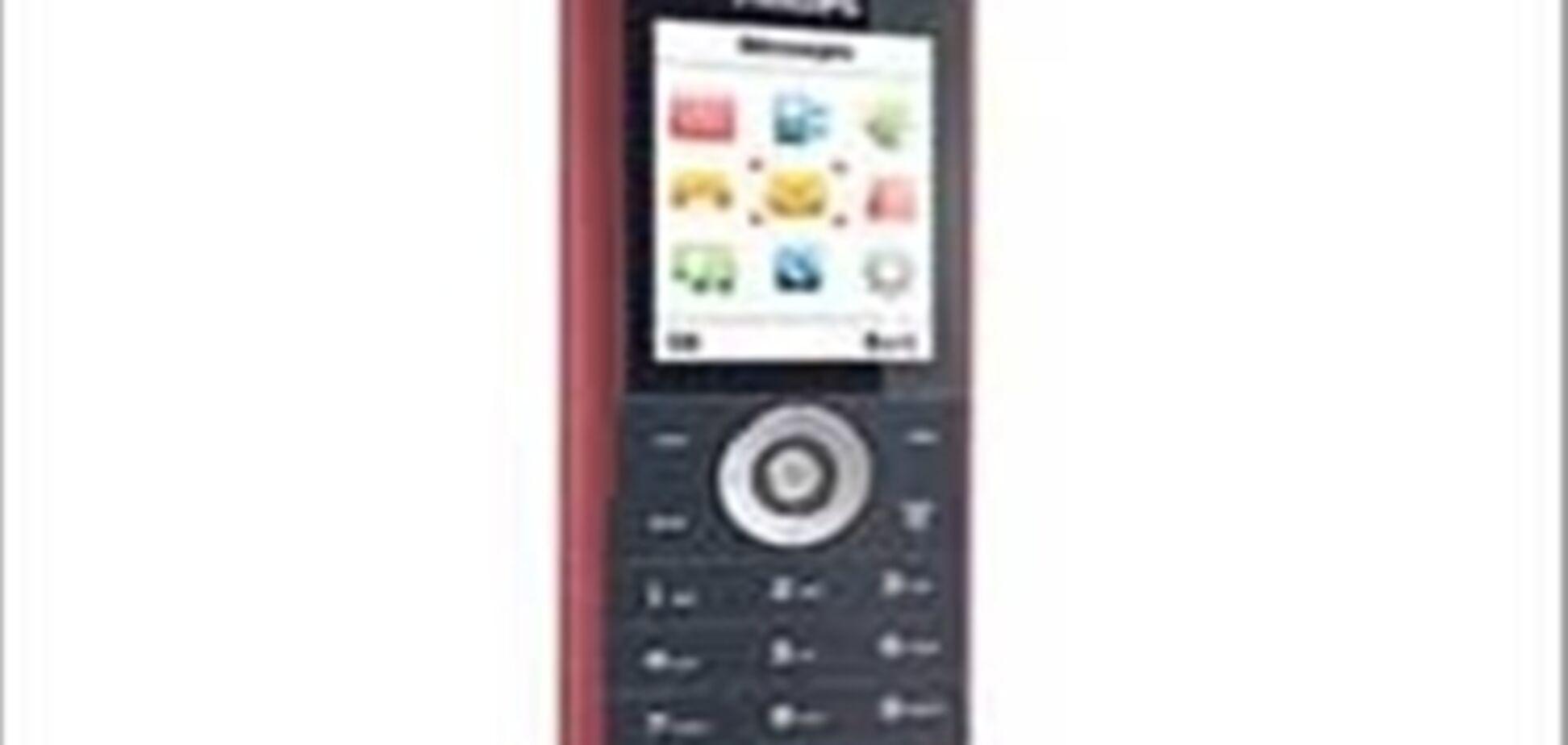 Philips выпустила недорогой музыкальный телефон E100