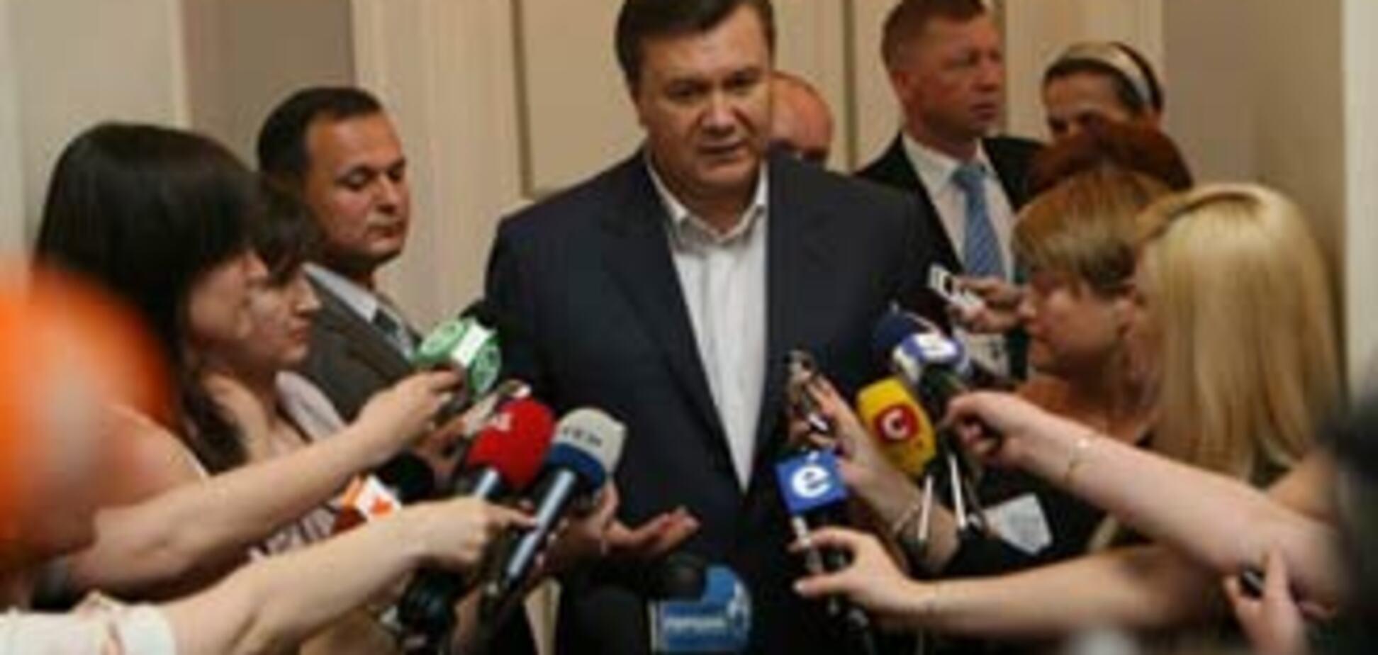 Янукович: Тимошенко підкупила блок Литвина і НУ-НС