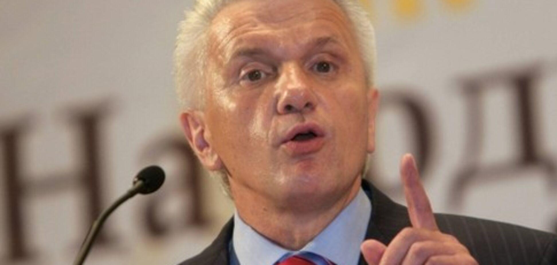 Литвин напрошується на термінове спецзасідання ВР