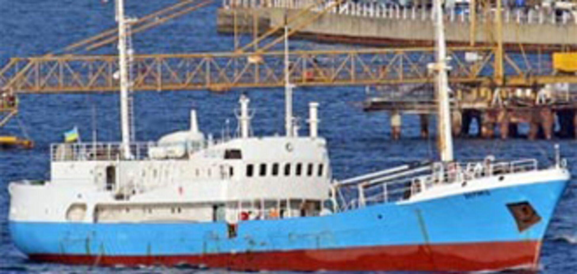 'Вонючее' судно причалило в Одессе
