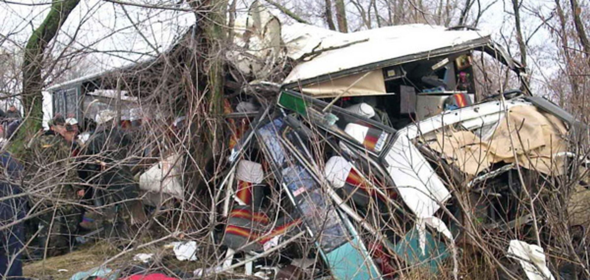 13 человек погибли в результате аварии