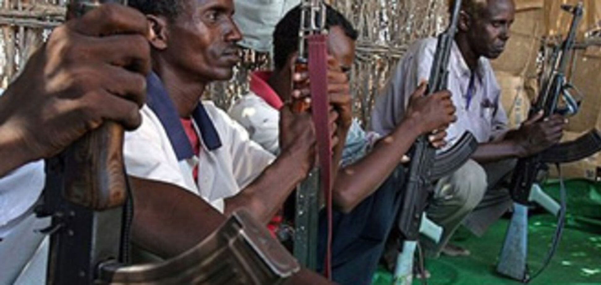 Сомалийские пираты попали в плен