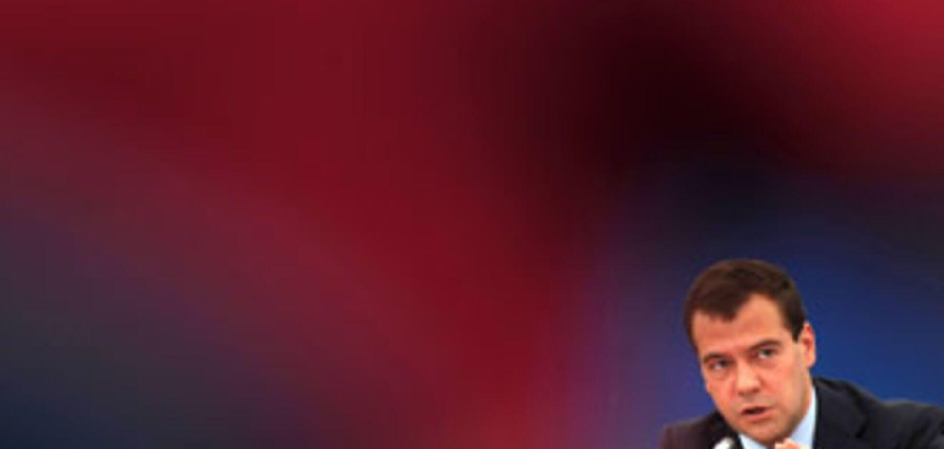 Медведев напугал МИД Украины