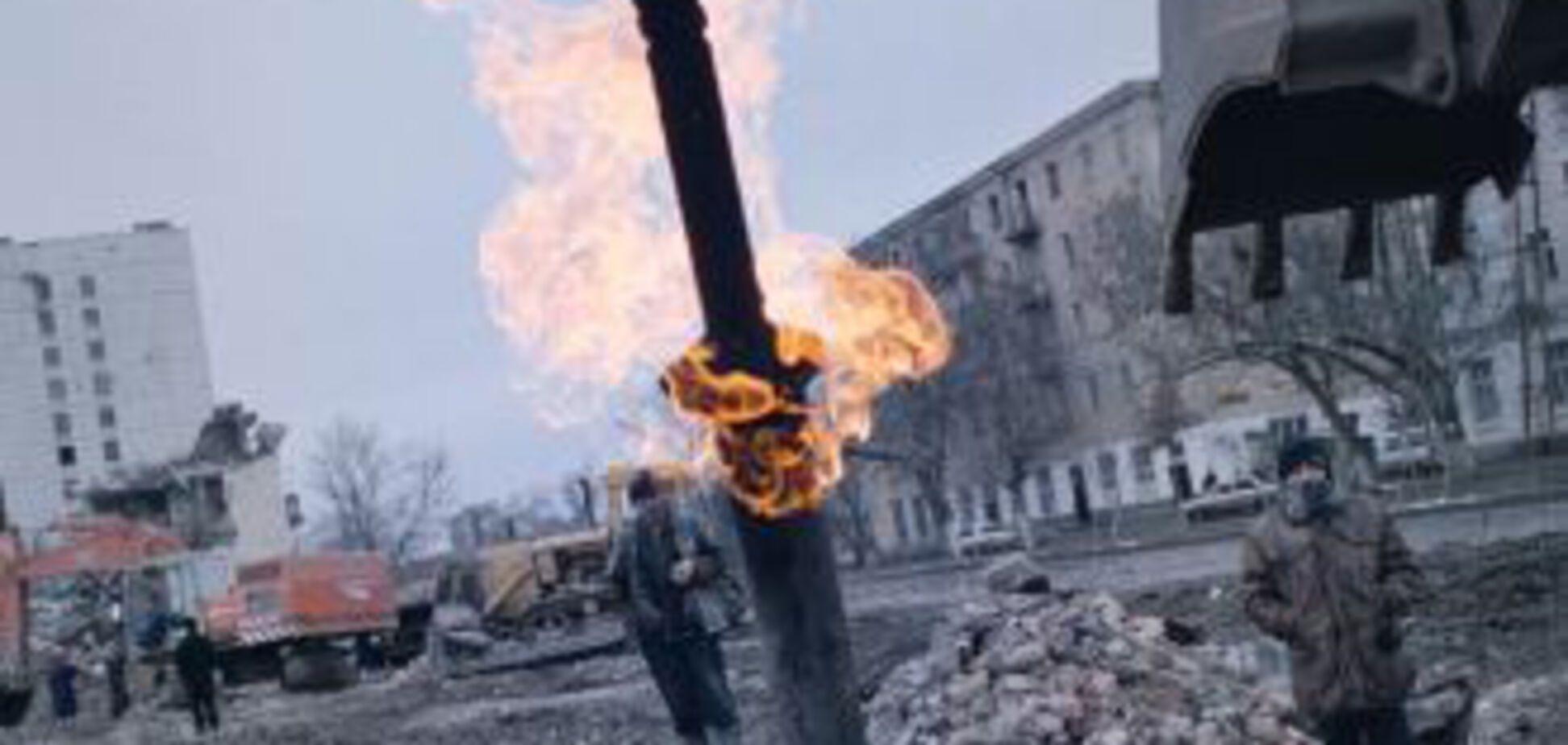 В столице Чечни прогремели пять мощных взрывов