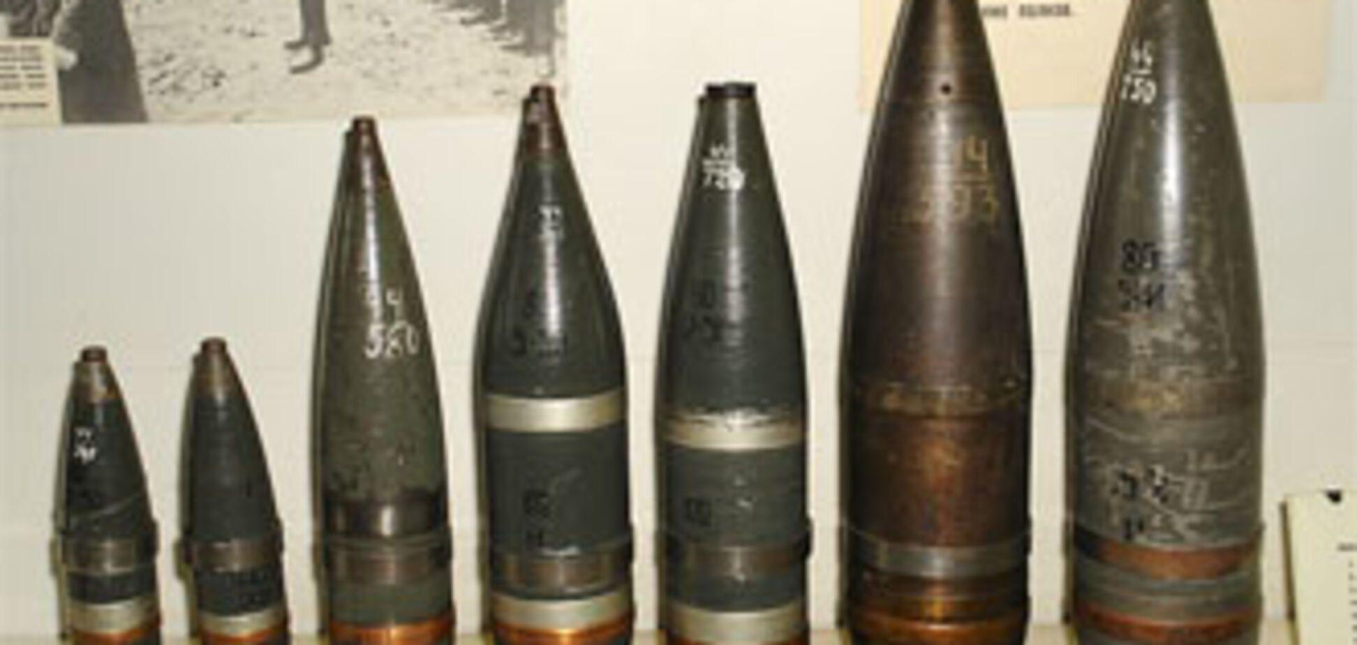 На Херсонщине обнаружено 17 снарядов времен Второй мировой