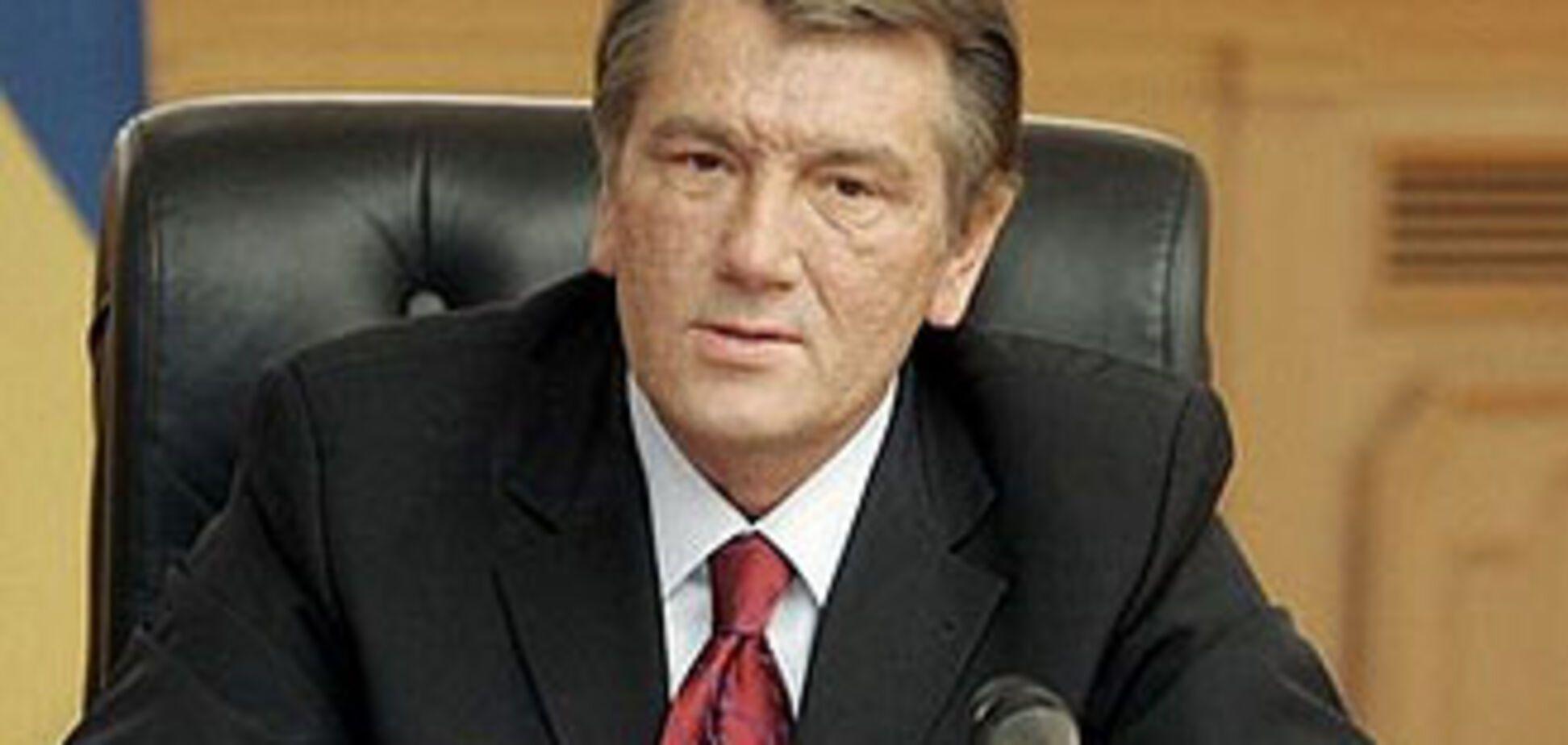 Виктор Ющенко подлагодарил сограждан за прожитую пятилетку
