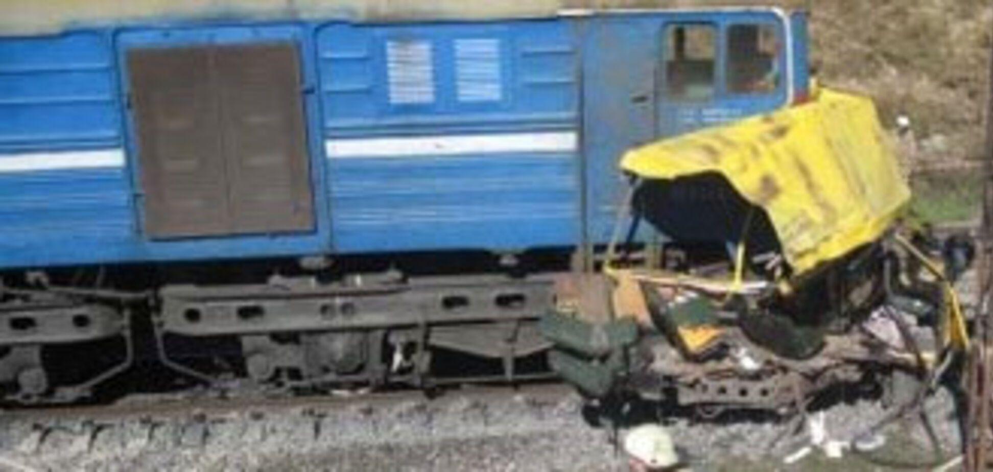 Крупнейшая авария за историю Украины (ВИДЕО)