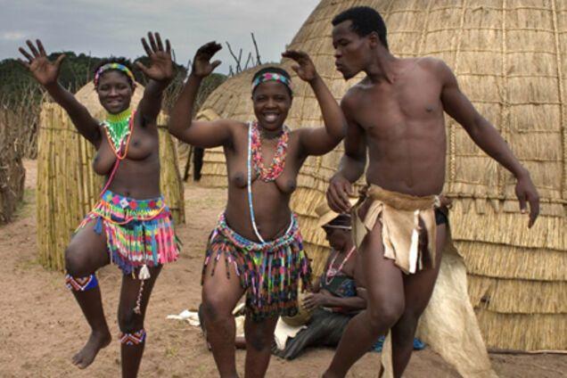 Секс с зулуской