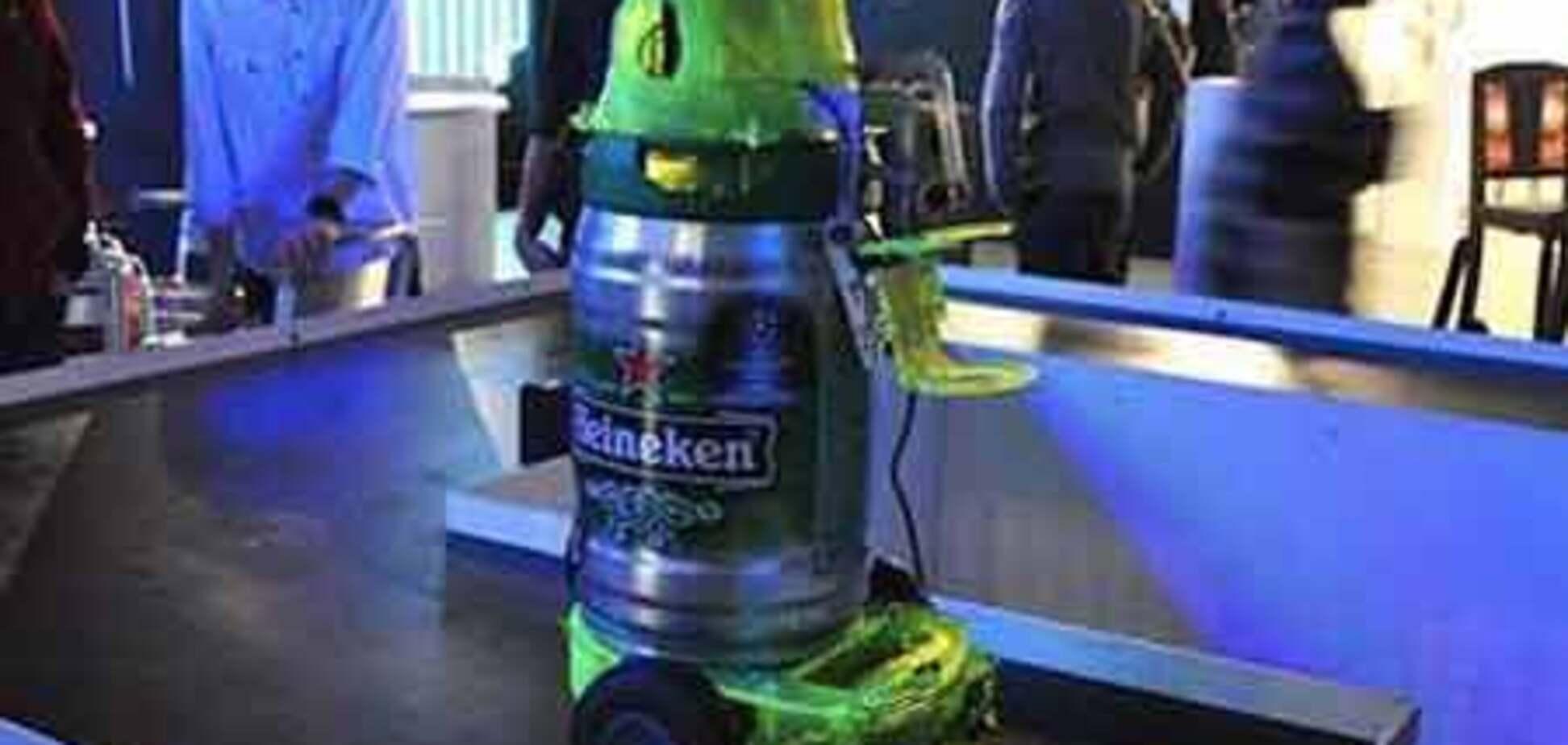 Британские инженеры создали «пиворобота»