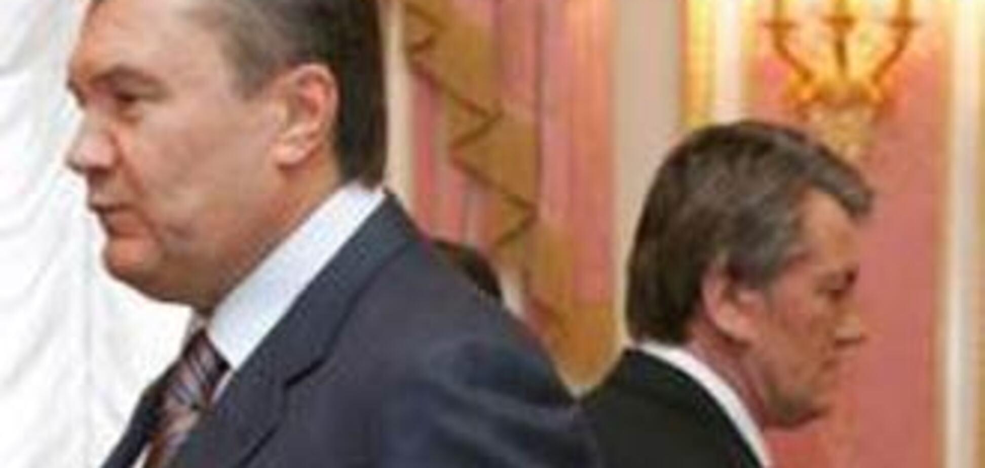 В Берлине Ющенко перепутали с Януковичем