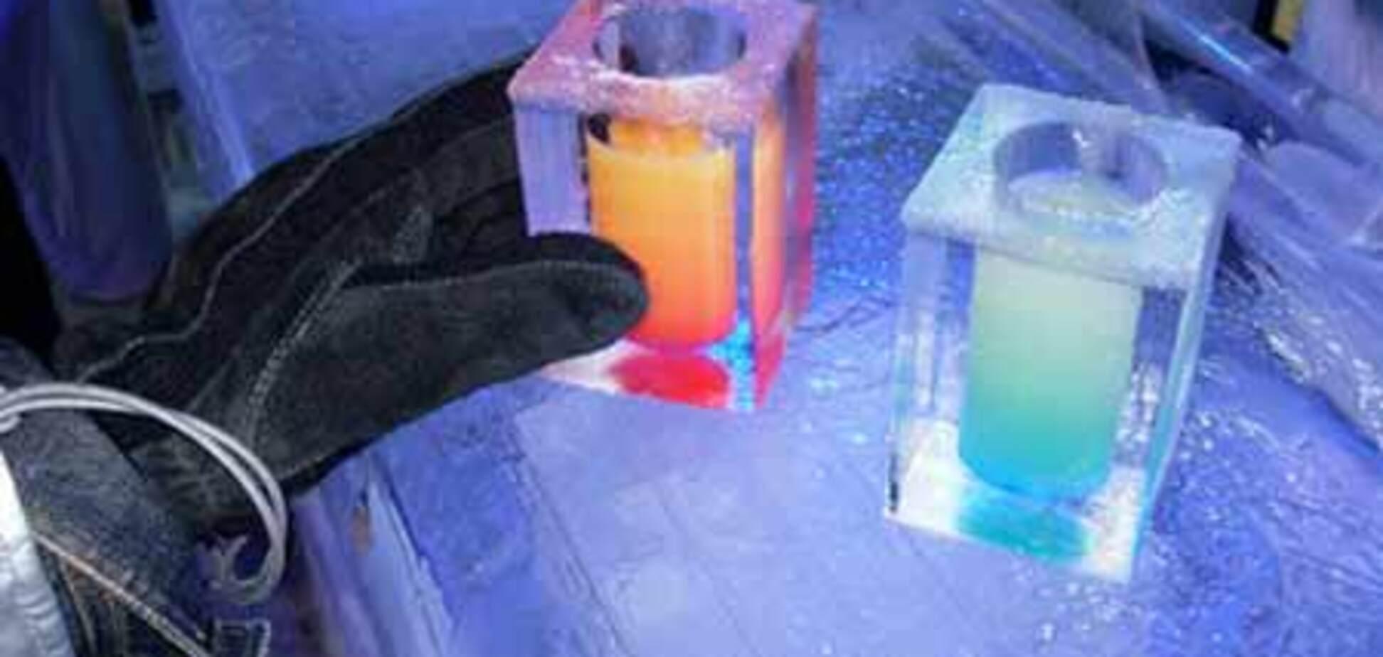 В США открылся бар изо льда для стойких к морозам