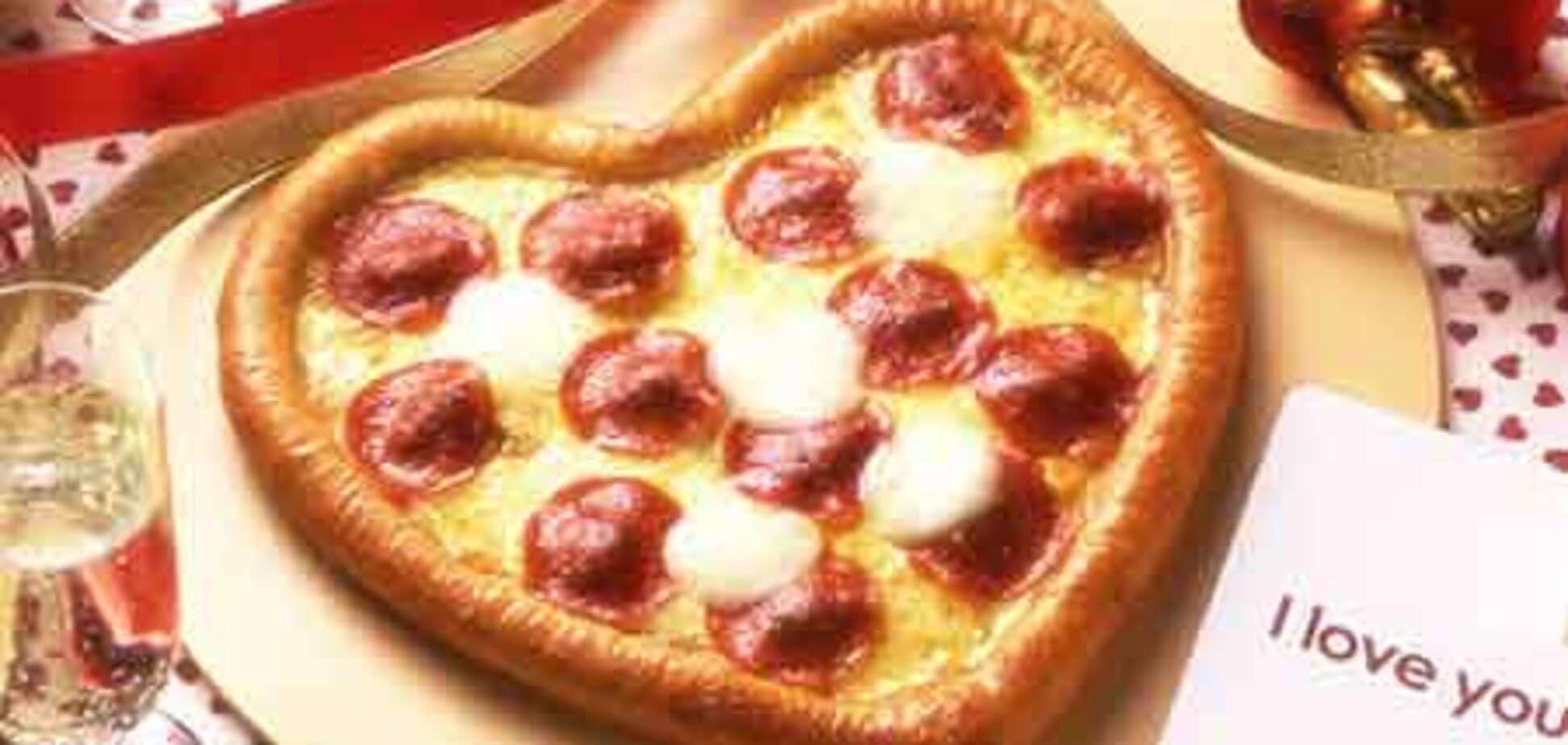 Пицца ко Дню Святого Валентина