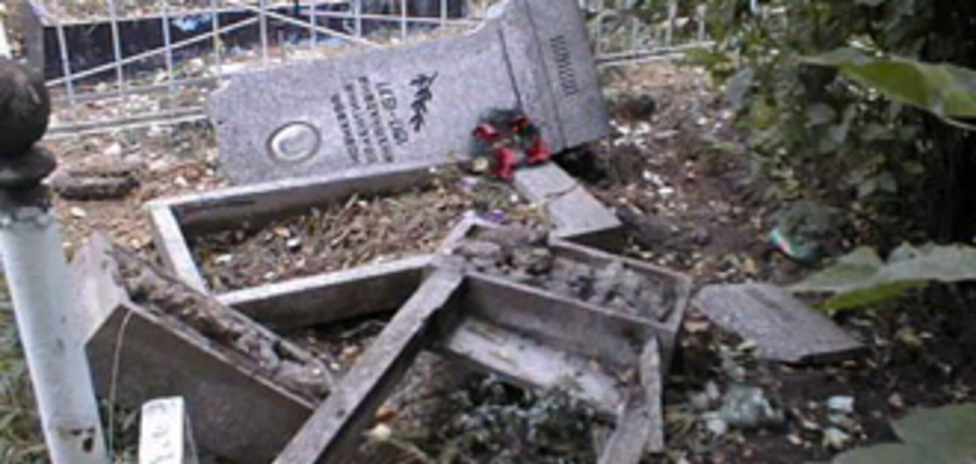 9-річні вандали пошкодили 30 пам'ятників