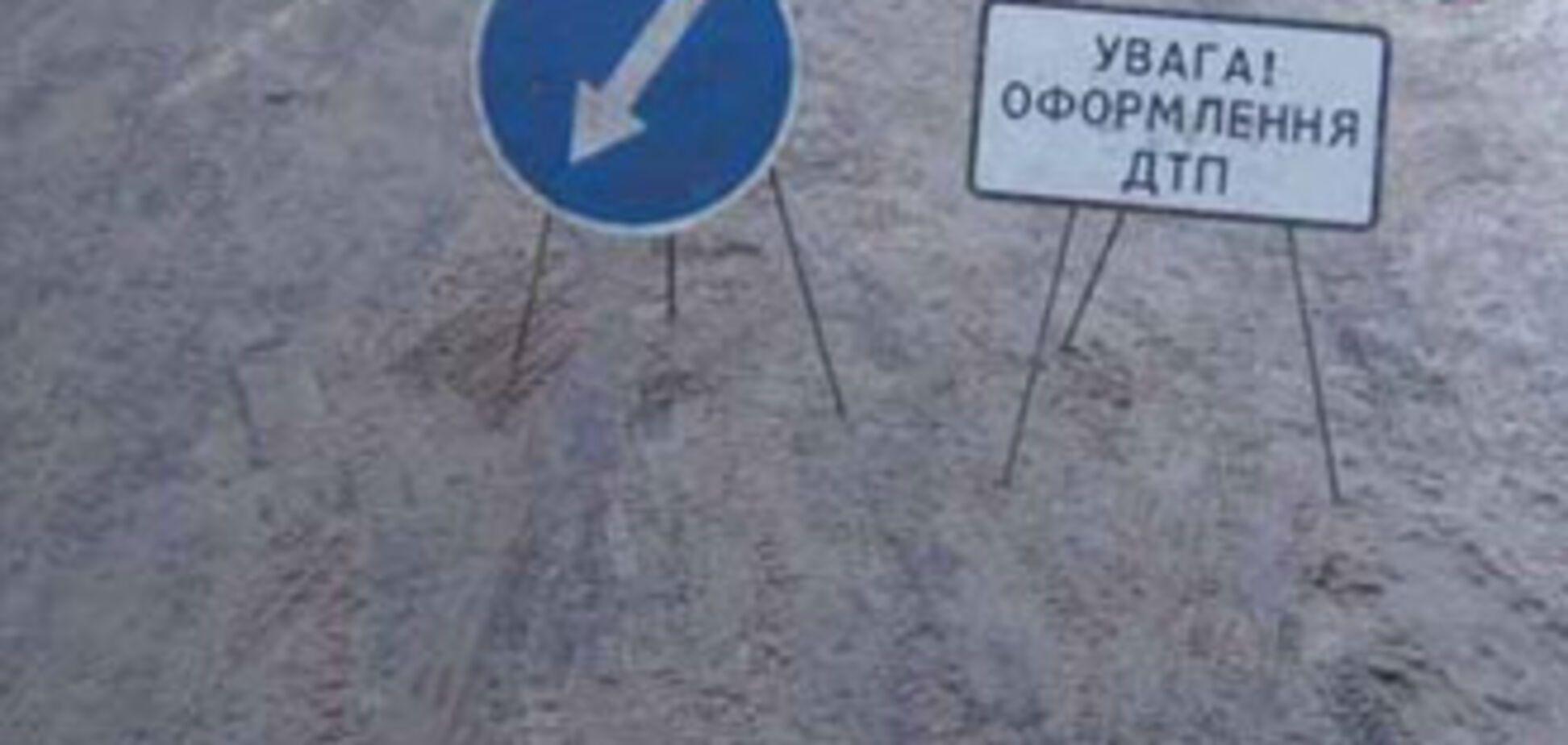 Іномарка протаранила натовп людей під Києвом, загинули діти