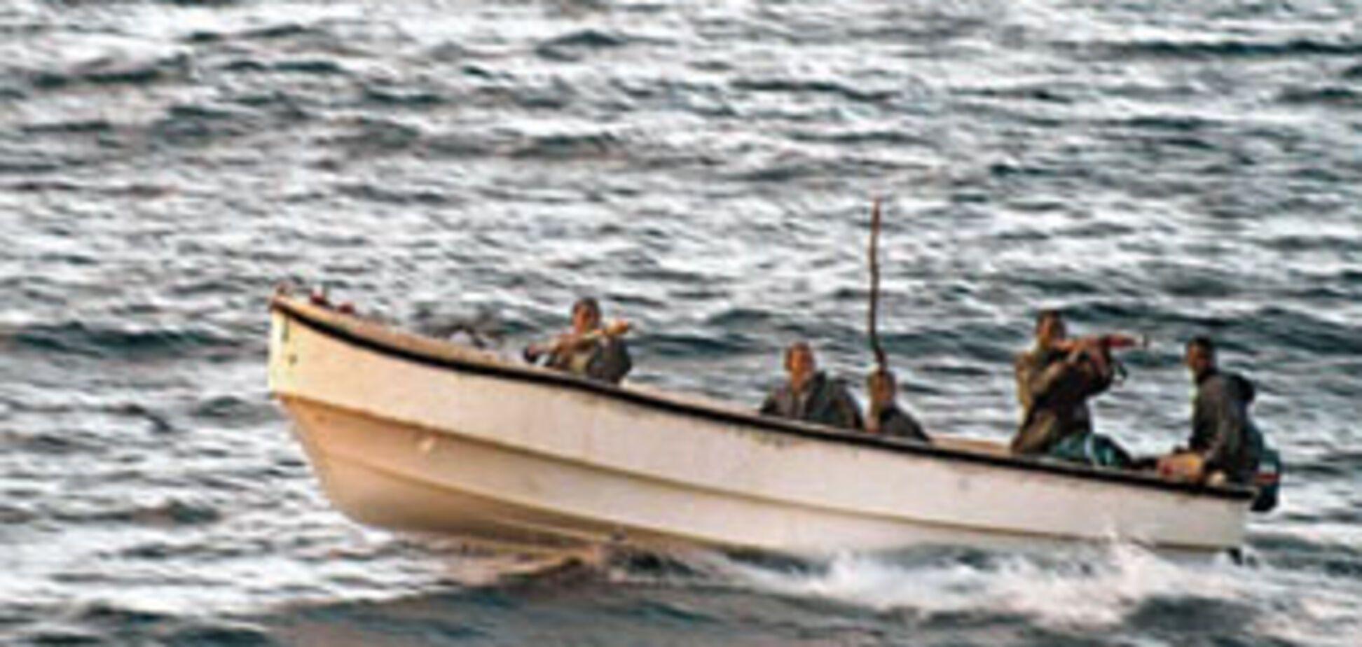Відпущені пірати не змогли дістатися до берега