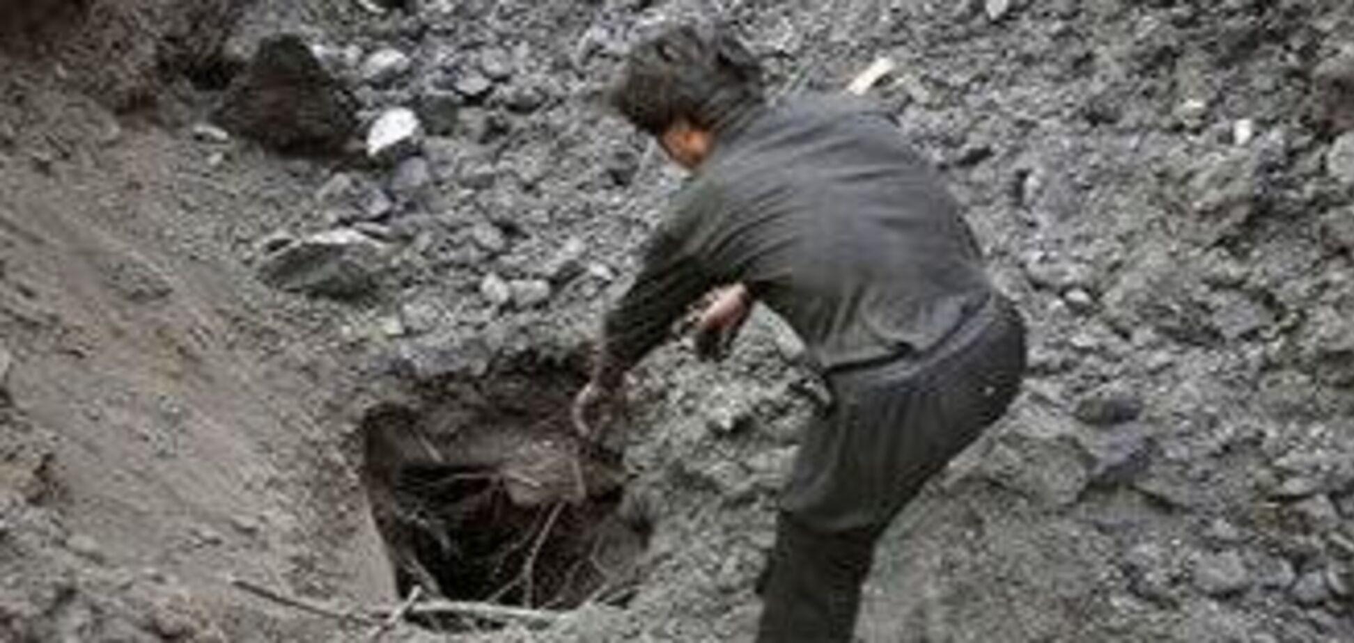 На Донбасі виявили нелегальний шахтний комплекс