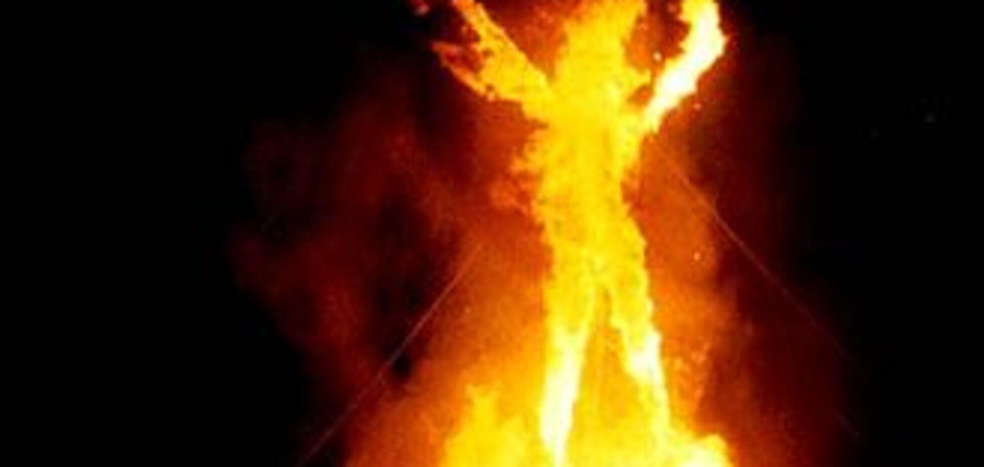Інвалід підпалив будинок, щоб покінчити з собою