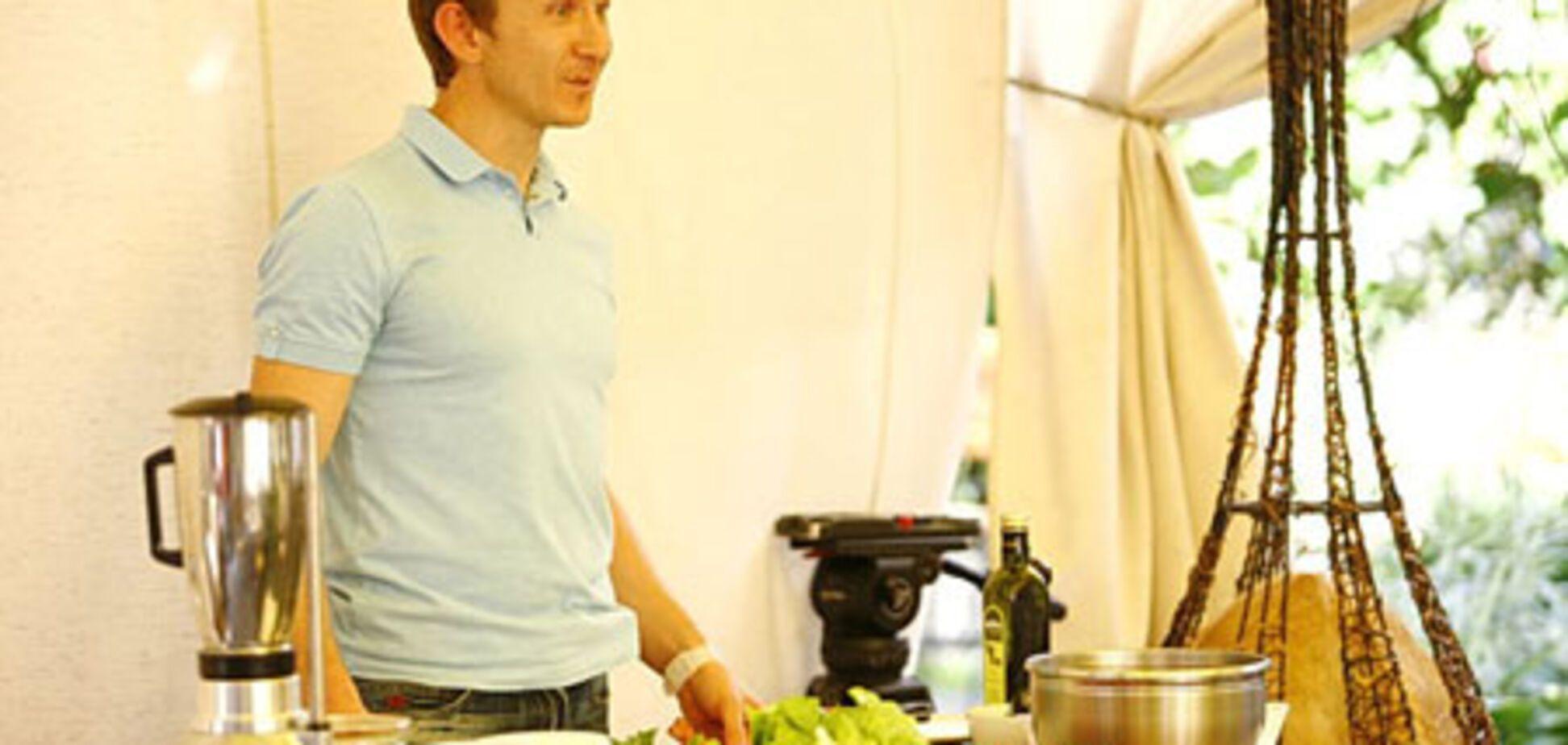 Салат с клубникой от шеф-повара Михаила Марчука