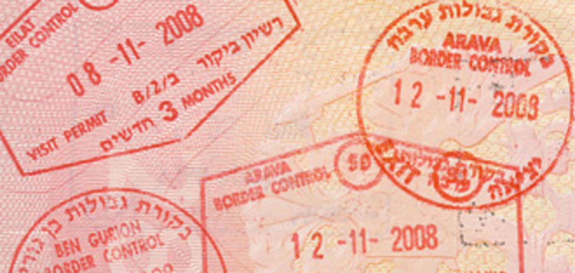 Кабмін схвалив скасування віз з Ізраїлем
