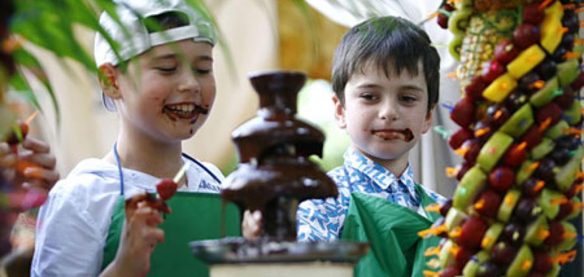 'Звездные' дети учатся готовить