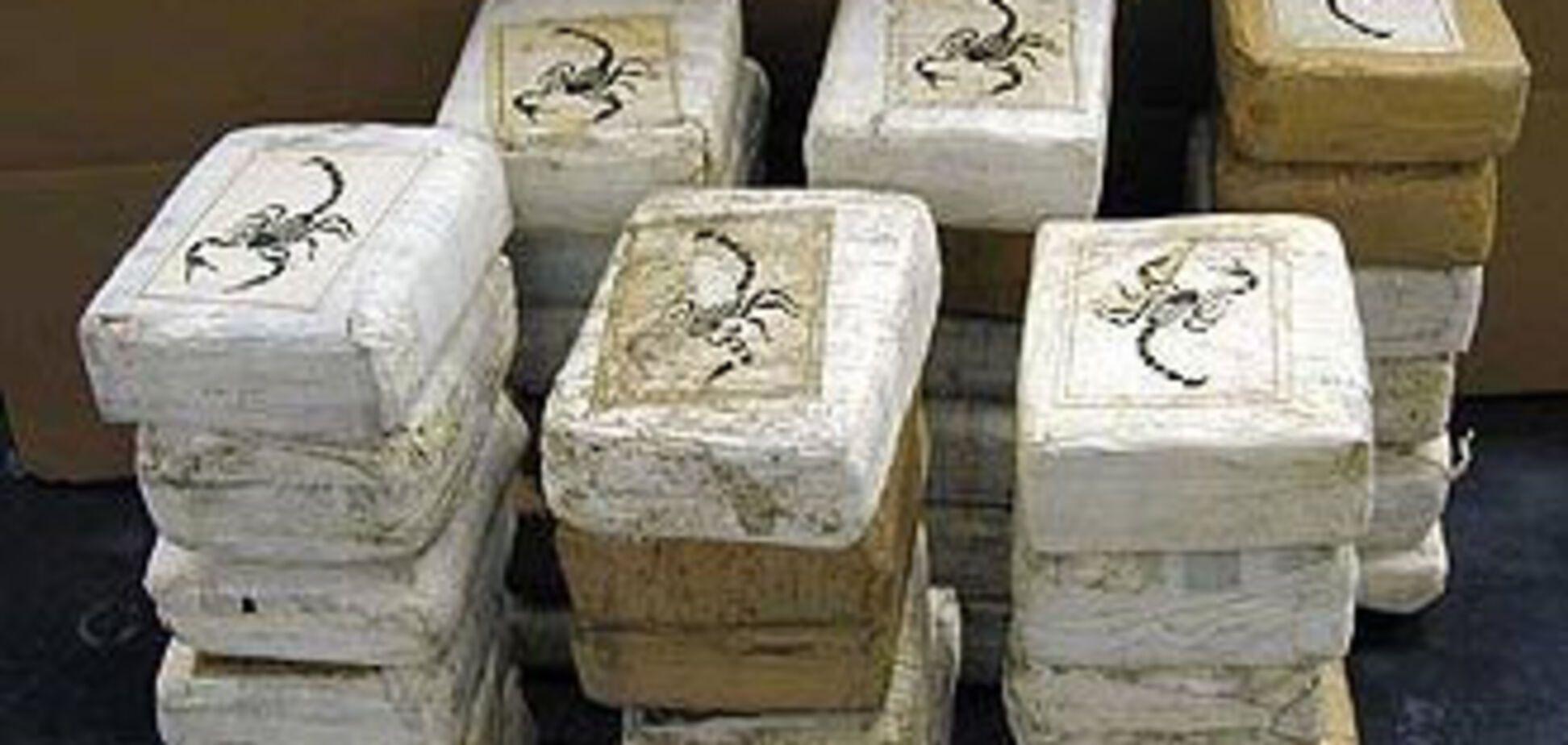 В Одесі вилучили півтора центнера кокаїну