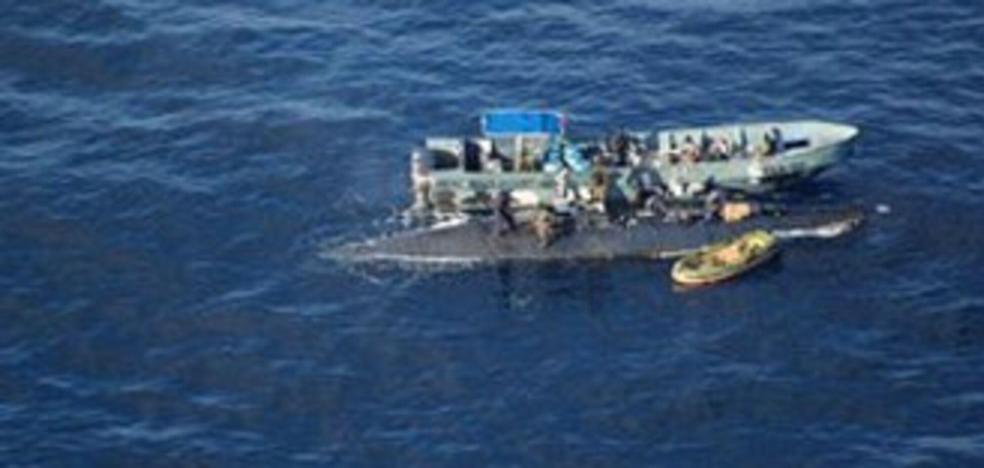 Затримали саморобну підводний човен з п'ятьма тоннами кокаїну