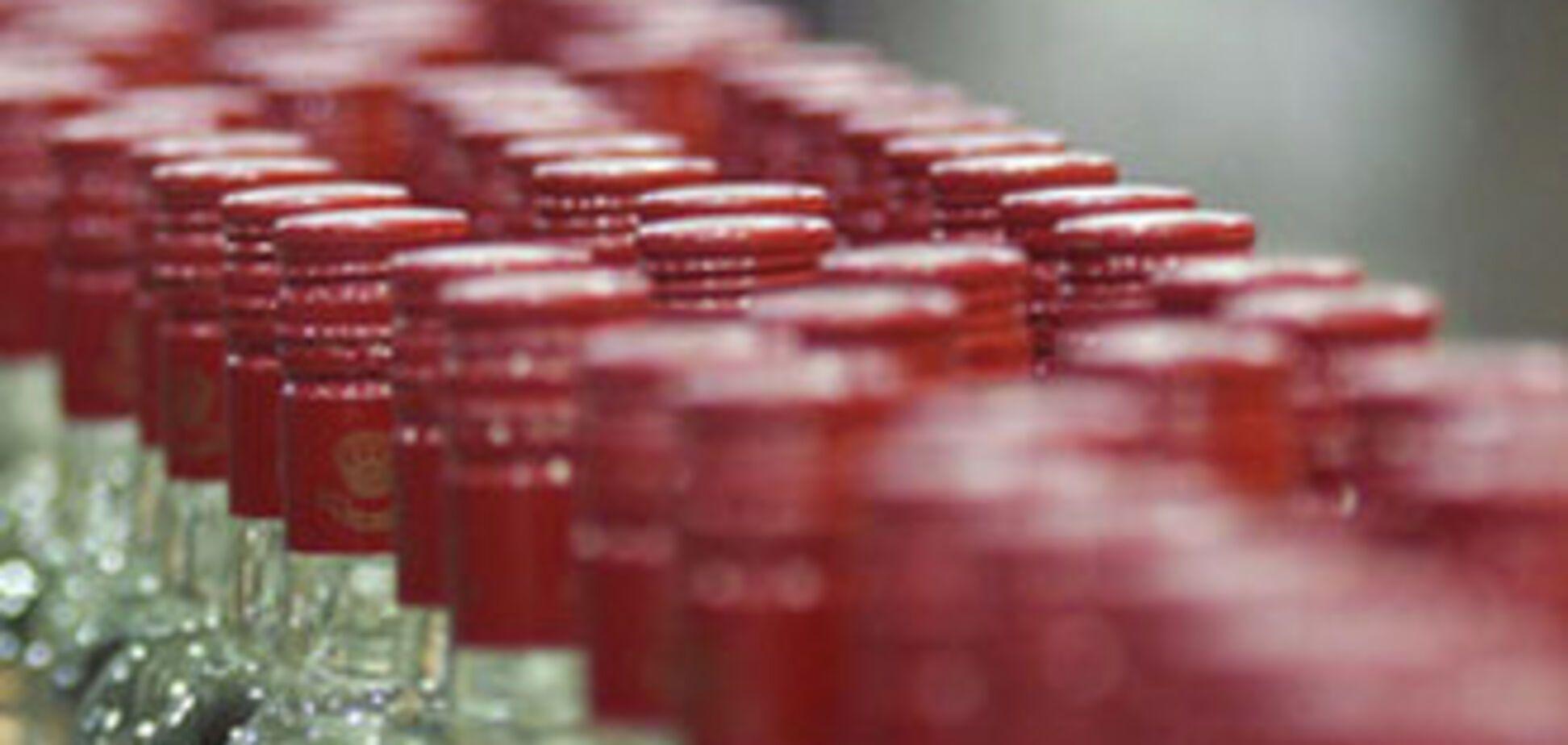 Івано-Франківська міліція знайшла 4 тис пляшок лівої горілки