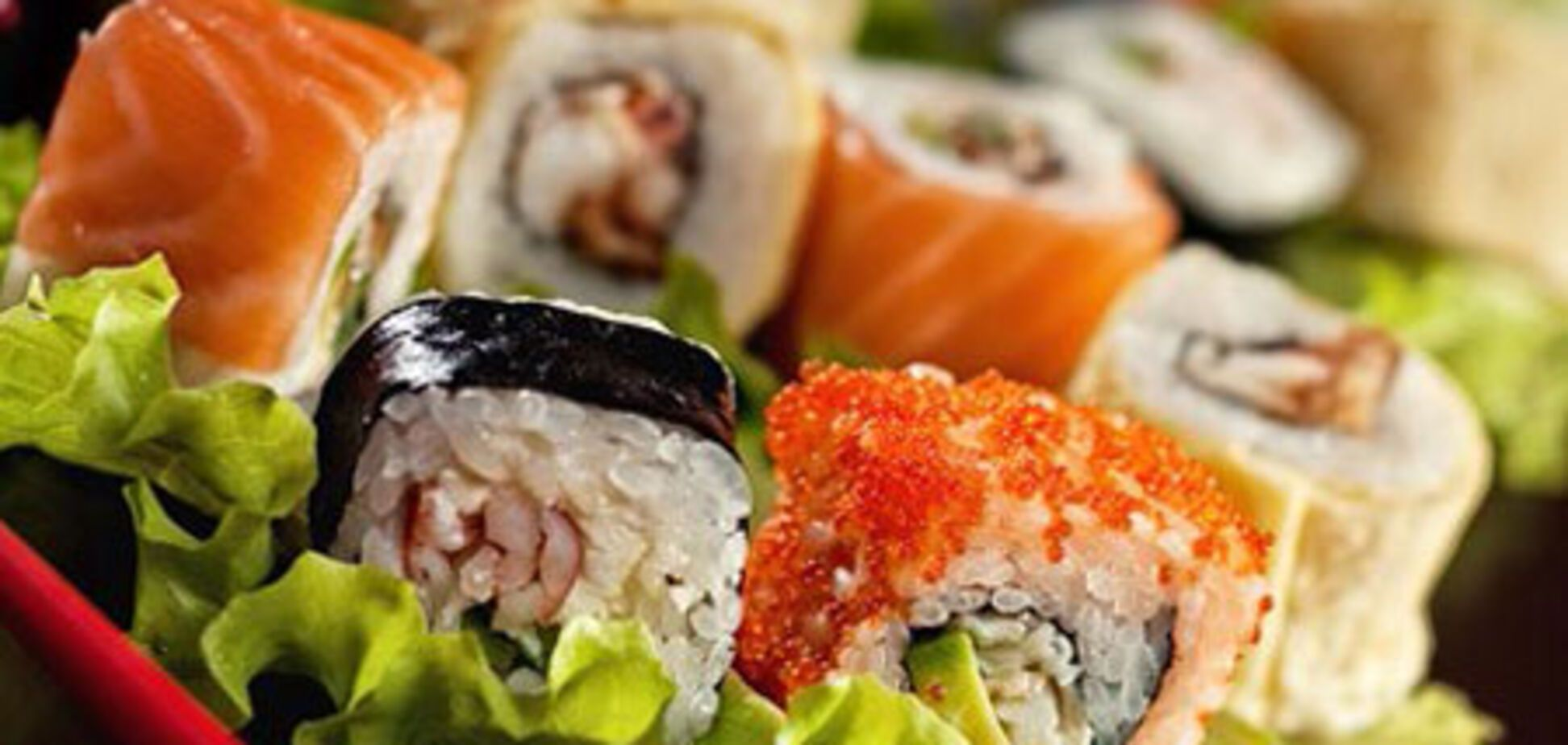 Изысканные суши от шеф-повара Дениса Борисенко