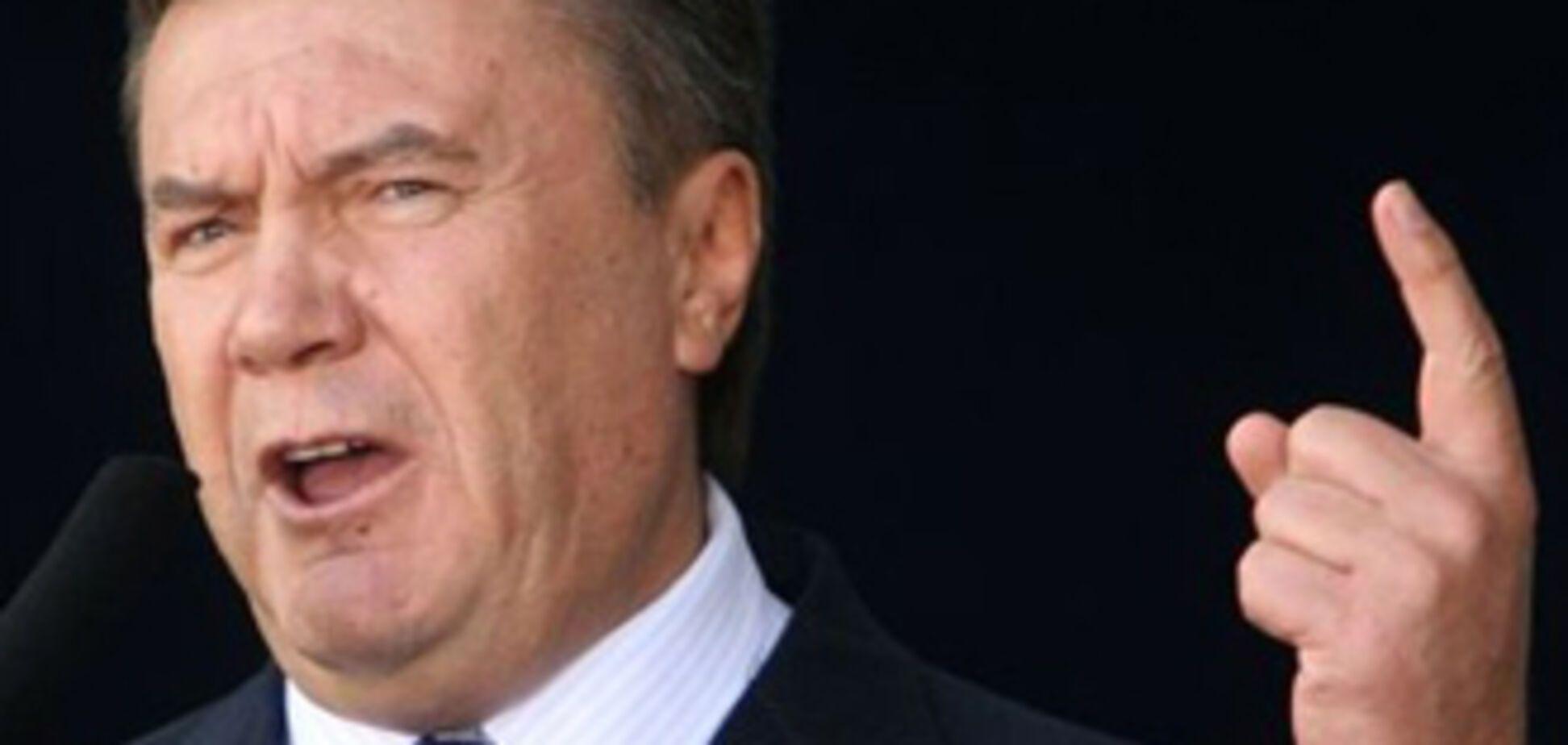 Янукович вводить податок на рибу