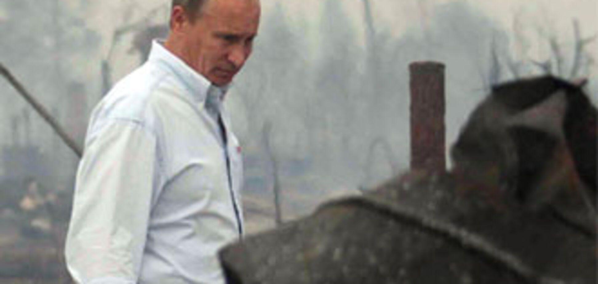 Путін влаштує веб-шоу на погорільців